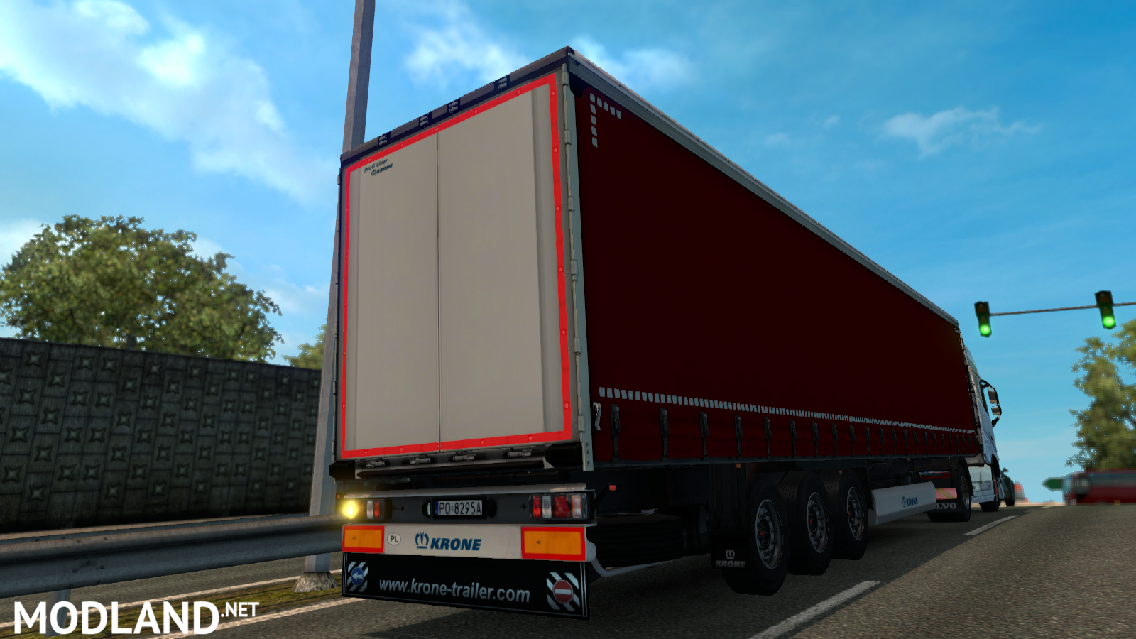 Red Krone Trailer Mod For Ets 2