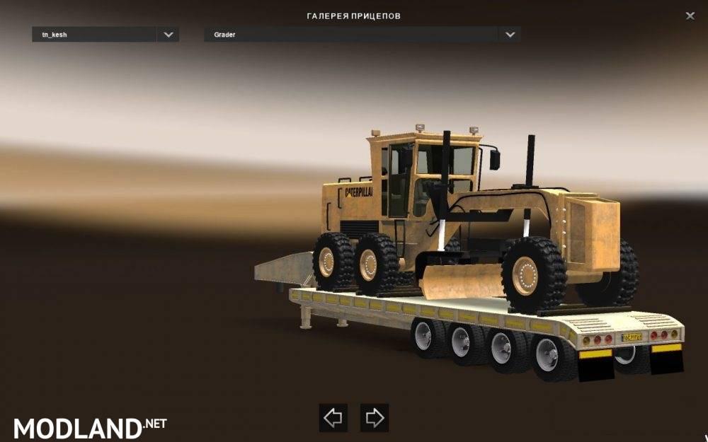 heavy trailer k4 pack update v1 27 mod for ets 2