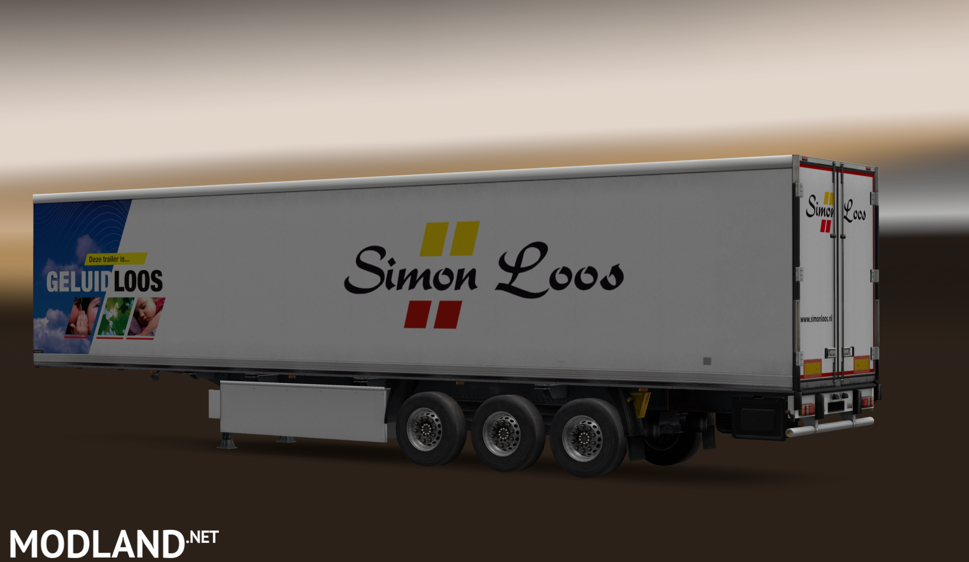 Simon Loos Trailer Mod For Ets 2