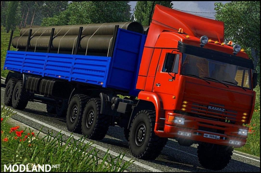 Trailers Pack for Truckers Map