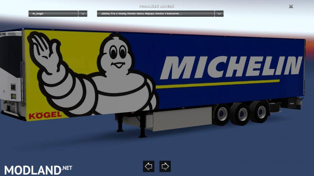 Kögel Trailer Michelin
