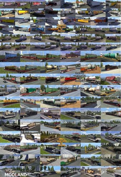 Addons for the Trailers and Cargo Packs v4.1, v1.7.1, v1.7.2 from Jazzycat