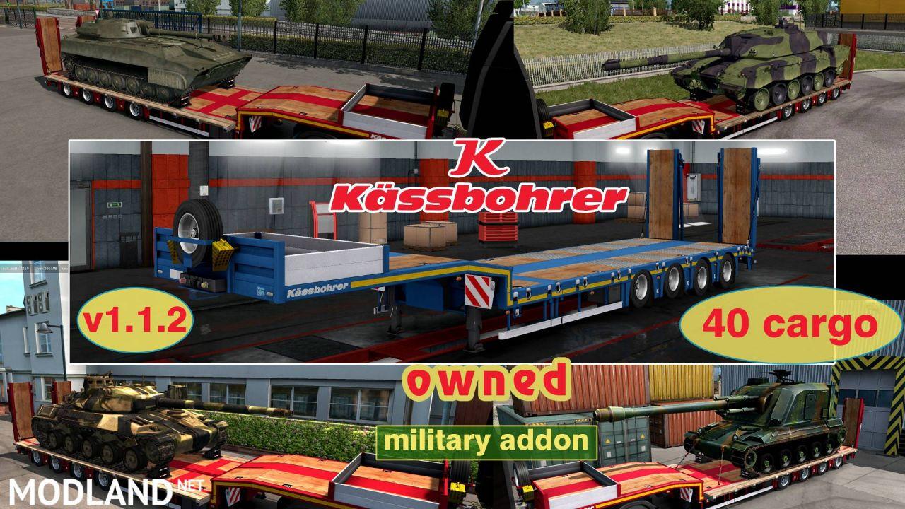 Military Addon for Ownable Trailer Kassbohrer LB4E