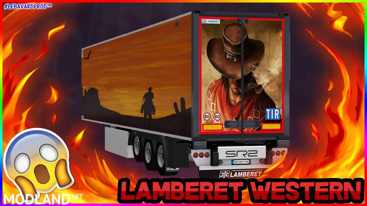 Lamberet SR2 Trailer Western