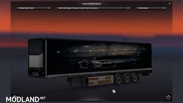 Lamborghini Aventador Trailer