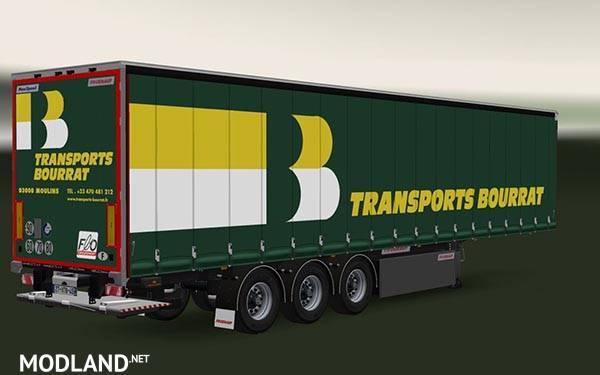 Trailer Fruehauf MaxiSpeed Transports Bourrat