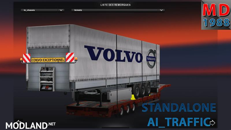Transport trailer Schmitz