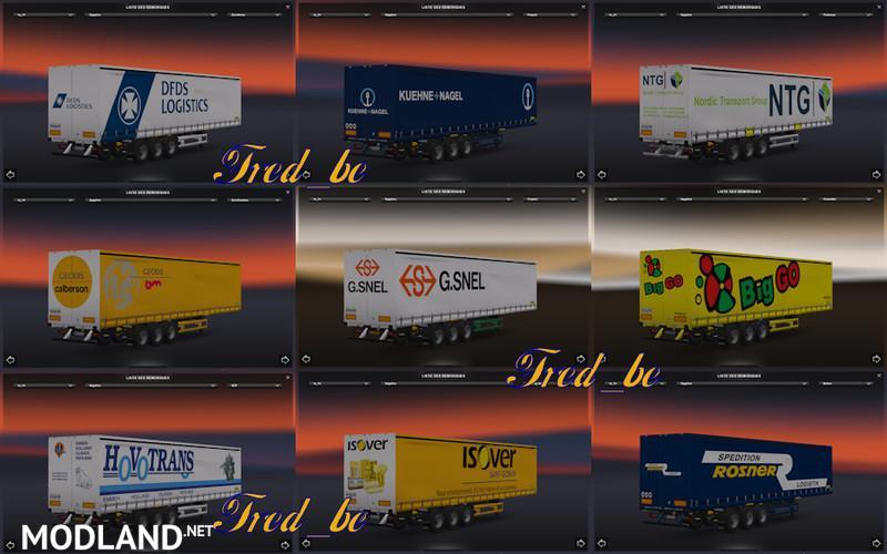 Net Direct Trucks >> Pack Pro Liner mod for ETS 2