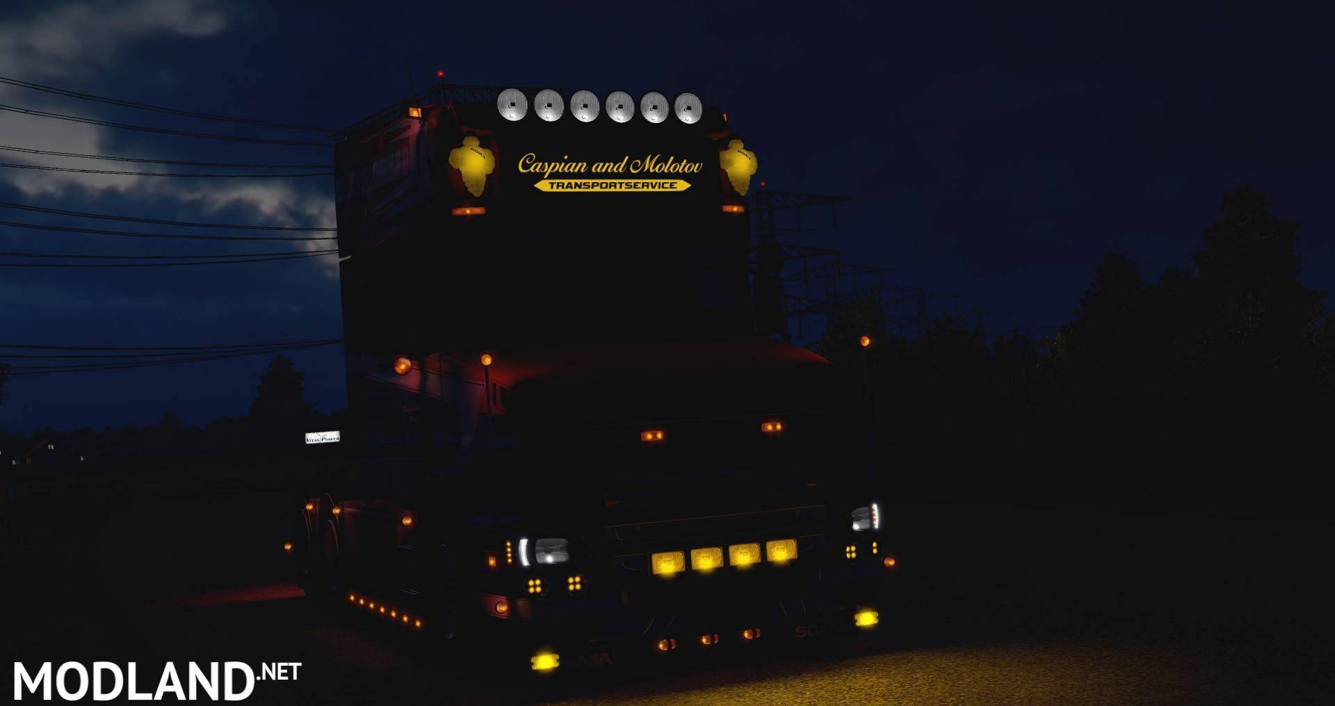 Scania T Modlandnet on Volvo Truck Cab And Chassis