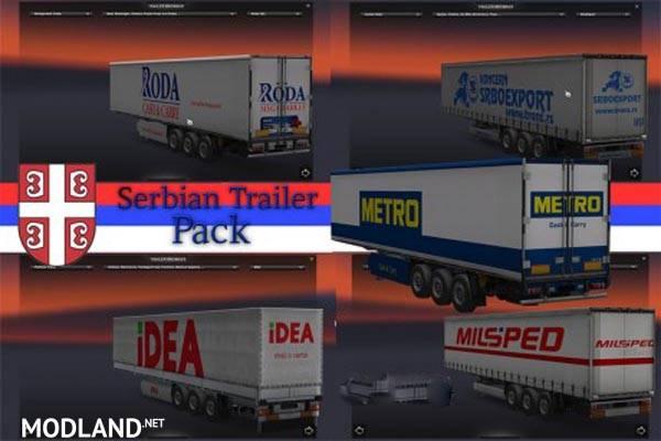 Serbian Trailer Pack Mod For Ets 2