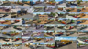 Overweight Trailers and Cargo Pack by Jazzycat v 8.2