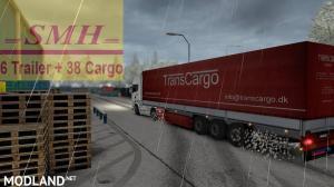 6 Realistic Trailer + 38 Cargo