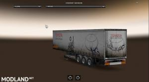 Realistic dirty trailer skin, 1 photo