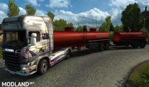 "Pack double trailers for the card ""Russian open spaces"" v 4.0 1.35, 1 photo"