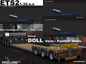 Doll 3 Axle Owned Trailer v 7.1