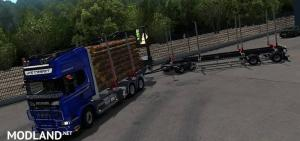 JYKI Timber Tandem Trailer 1.3.3 (1.33, 1.34), 2 photo