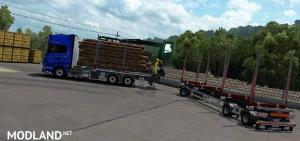 JYKI Timber Tandem Trailer 1.3.3 (1.33, 1.34), 1 photo