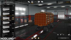 Nefaz trailers 8332 for KamAZ 5460/6460/65201/65117/4326/65221/6350/43118 1.36