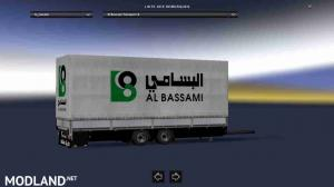 Trailer-Tandem Al Bassami Transport V2 For ETS2 1.31 - External Download image