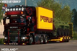 Caterpaillar Tank Trailer By Cheetah Modders Team, 1 photo