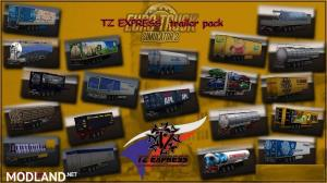 ETS2 TZ Trailers Pack (1.28.x)
