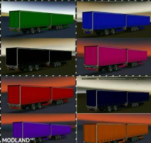 Color Trailer (Double) for Multiplayer & Singleplayer (Version 2.0), 1 photo
