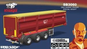 KRAMPE SB3060 AGRAR TRAILER (BETA VERSION) ETS2