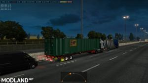 53 'ft containers in traffic ETS2 1.35.x, 2 photo