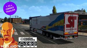 KRONE JELLE SCHOUWSTRA OWNED TRAILERS ETS2 1.33.x, 2 photo