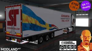 KRONE SCHOUWSTRA TRAILERS ETS2 1.36.x DX11