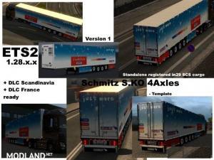 Schmitz Cargobull S.KO 4 axles Reefer Trailer, 1 photo