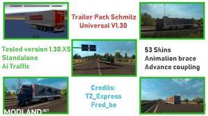 Trailer Pack Schmitz Universal V1.30 (53 Skins), 1 photo