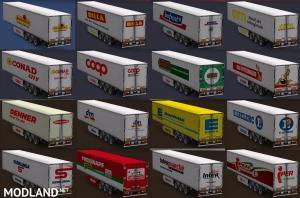 European supermarket trailers