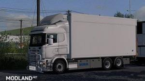 TANDEM ADDON FOR RJL SCANIA RS & R4 BY KAST (1.32.x), 1 photo