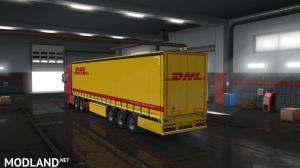DHL Trailer Skin (Owned SCS Trailer), 2 photo