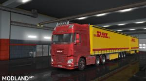 DHL Trailer Skin (Owned SCS Trailer), 1 photo
