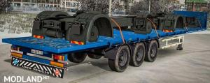 Trailer with Chassis Load + dirty Wheels, 1 photo