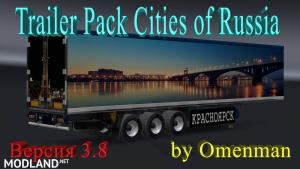 Trailer Pack Cities of Russia 3.8 (for version 1.24), 1 photo