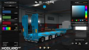 1.36 Vang's trailer, open semi trailer – ownable and paintable, 1 photo