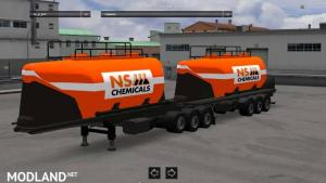 Paсk double trailers, 2 photo