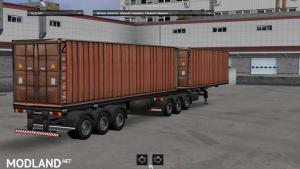 Paсk double trailers, 6 photo