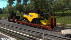 Agricultural trailers pack in traffic 1.35, 4 photo