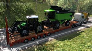 Agricultural trailers pack in traffic 1.35, 8 photo