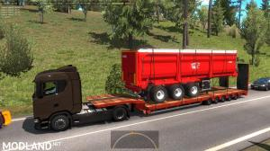 Agricultural trailers pack in traffic 1.35, 7 photo