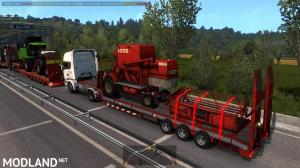 Agricultural trailers pack in traffic 1.35, 6 photo