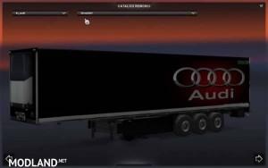 Audi Skin Trailers