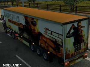 Battlefield Hardline Trailer Skin, 1 photo