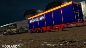 Brian Nielsen 4 axled Trailer for ETS2 1.34 & 1.35, 3 photo