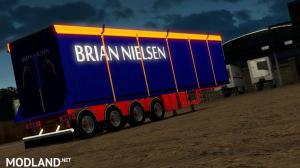 Brian Nielsen 4 axled Trailer for ETS2 1.34 & 1.35, 1 photo