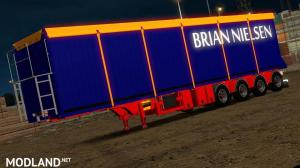 Brian Nielsen 4 axled Trailer for ETS2 1.34 & 1.35, 2 photo